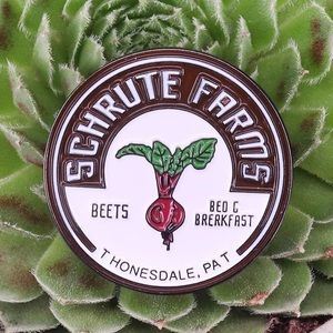 Schrute Farms Beets The Office Enamel Pin